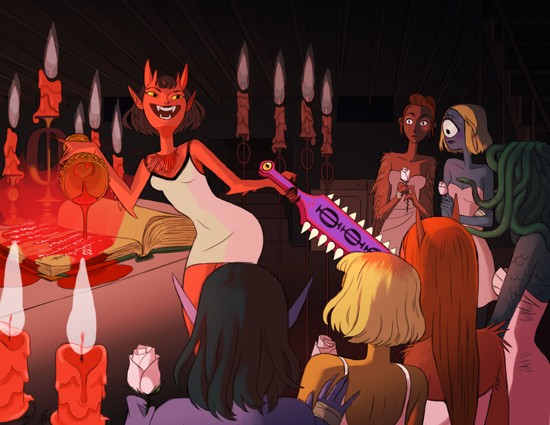 Illustration for article titled The Girls of Tri Phi Are Real Monsters