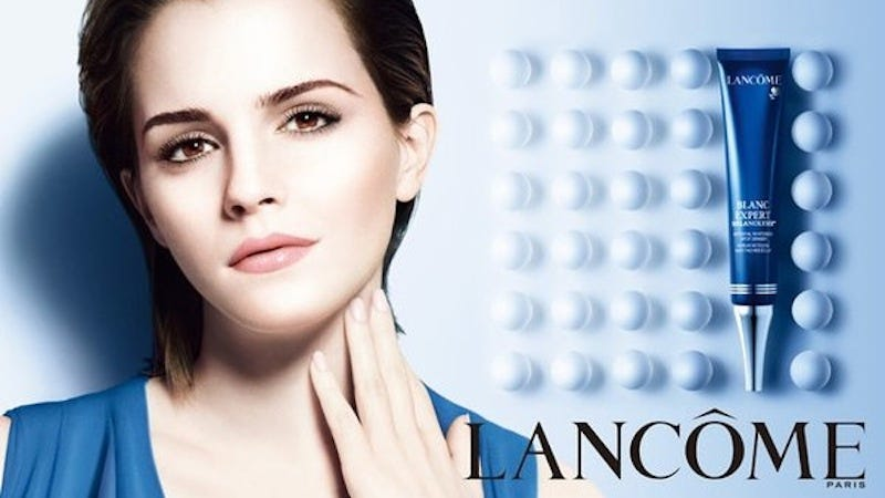 Illustration for article titled Remember That Time Emma Watson Was the Face of a Skin-Lightening Product?