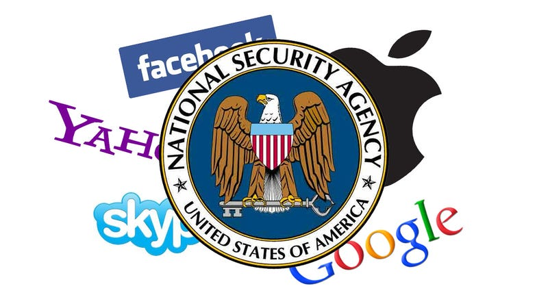 Illustration for article titled The Tech Companies in PRISM Aren't Telling the Complete Truth
