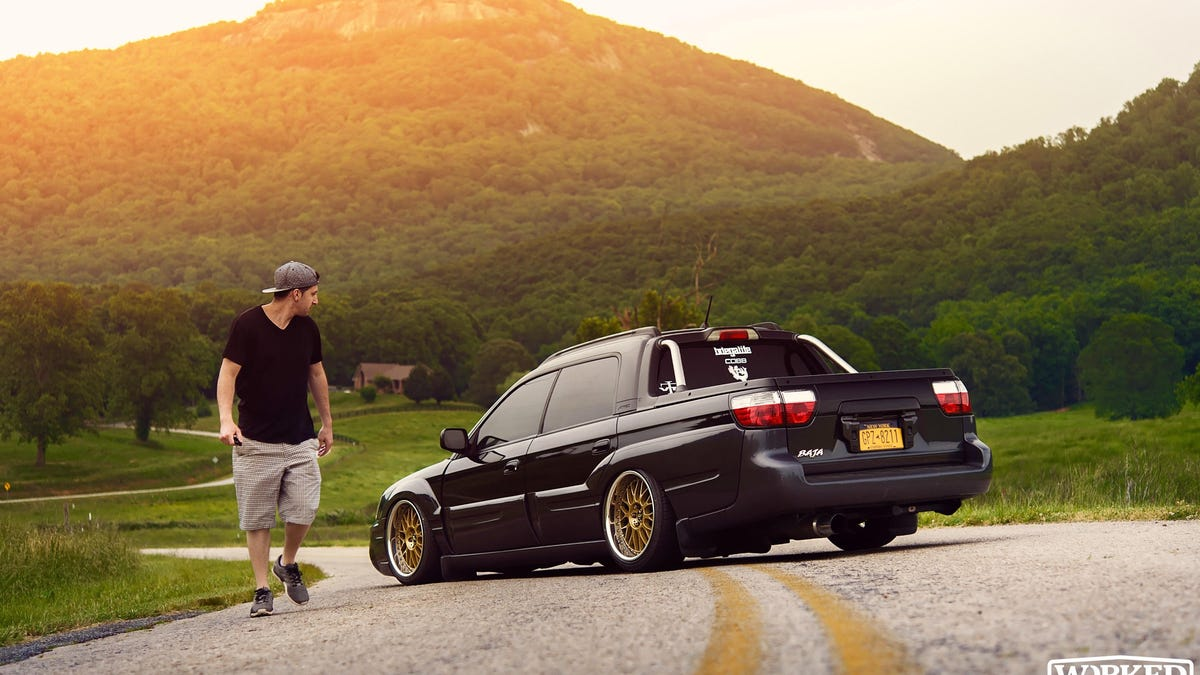 My Stanced And Bagged 2005 Subaru Baja Is Almost As Awesome