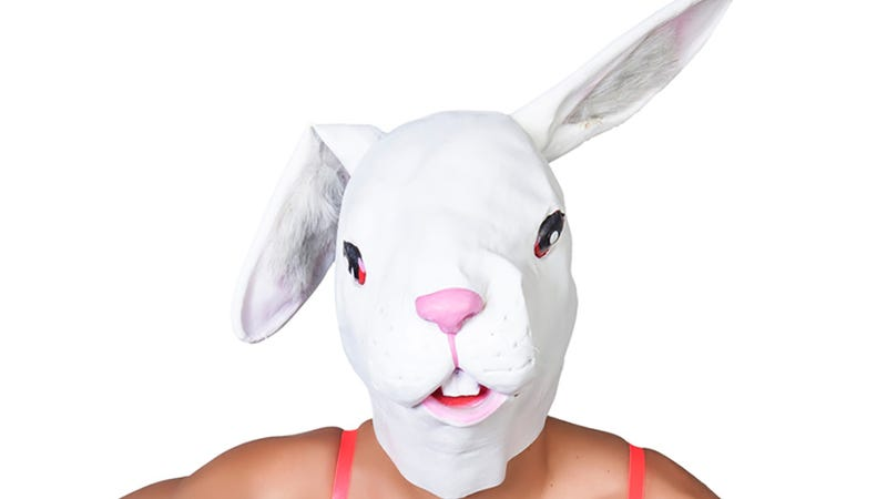 Illustration for article titled Celebrate Easter With These Creepy Photos Of Hot People in Bunny Heads