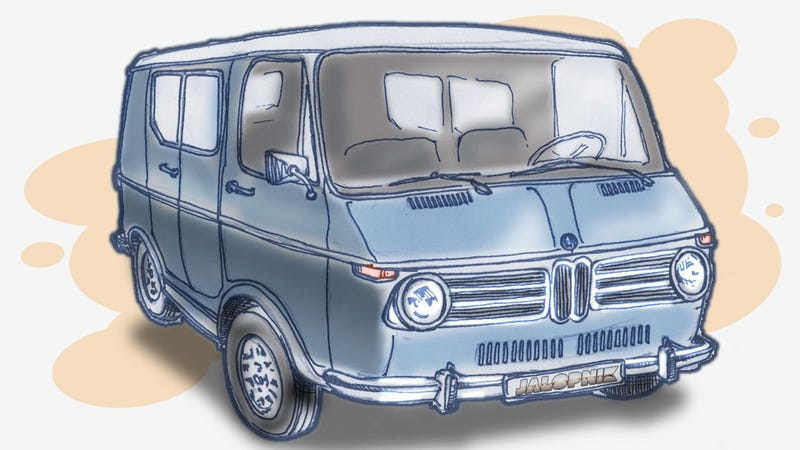 Illustration for article titled The BMW Van That Never Was