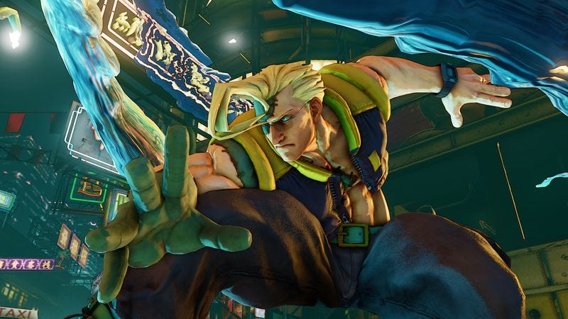 Nash proved to be the dominant character at Evo's 5,000-person Street Fighter V tournament. (Screenshot: Capcom)