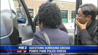 Investigators are looking into videos filmed by Grosse Pointe Park Police.Fox 2 screenshot