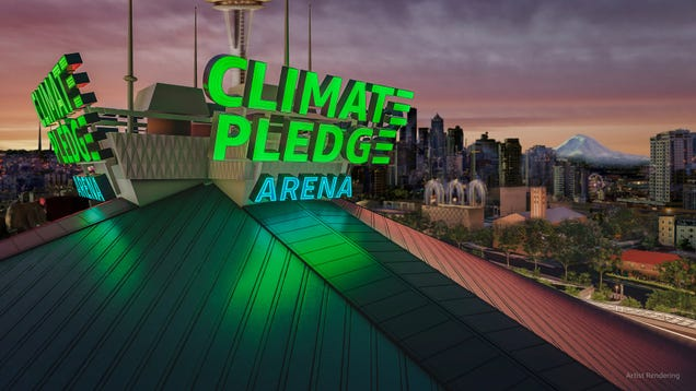 18 Names for Amazon's 'Climate Pledge Arena' That Would've Made More Sense