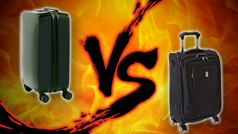 "Illustration for article titled Suitcase Showdown: ""Smart"" Luggage vs Standard Carry-Ons"