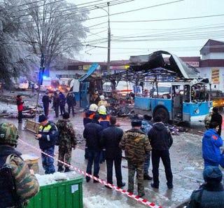 Illustration for article titled Újabb robbantás Volgográdban, újabb 14 áldozat