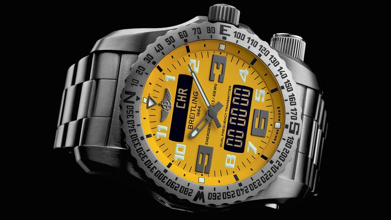 Illustration for article titled Breitling Emergency II: A Satellite Distress Signal On Your Wrist