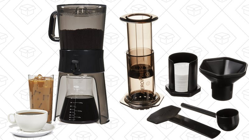 OXO Good Grips Cold Brew Coffee Maker | $40 | AmazonAerobie Aeropress Coffee and Espresso Maker | $24 | Amazon