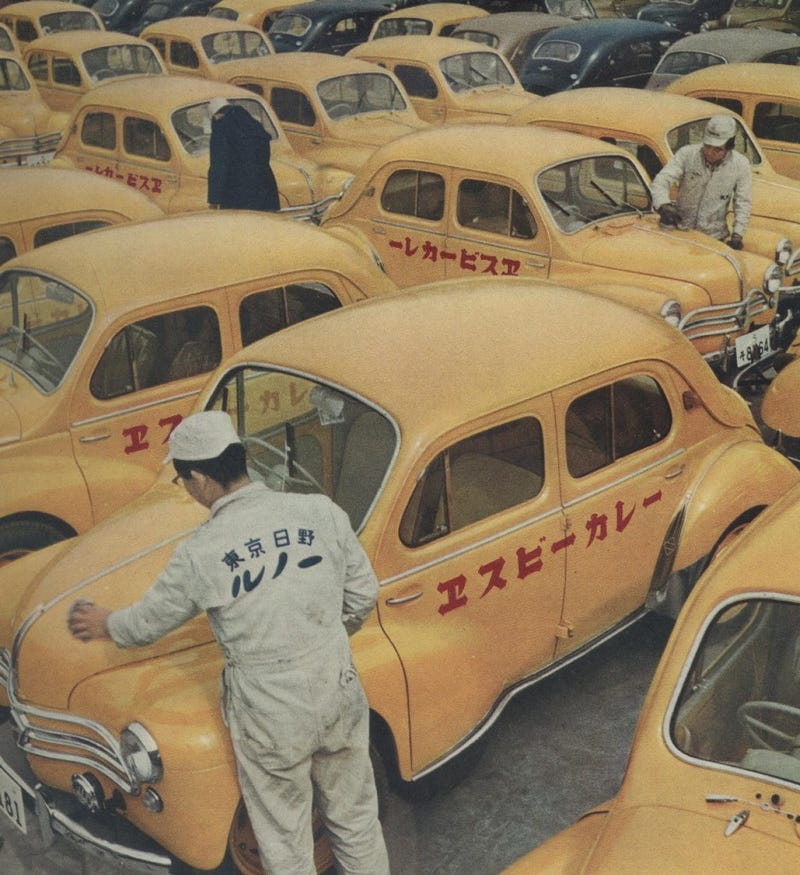Illustration for article titled Hino/Renault SB Curry cars