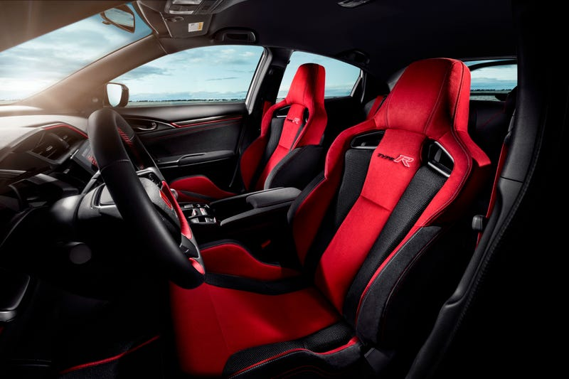 2018 honda type r. perfect type the 2018 honda civic type r is 306 hp of frontwheel drive fury coming to  america and honda type r a