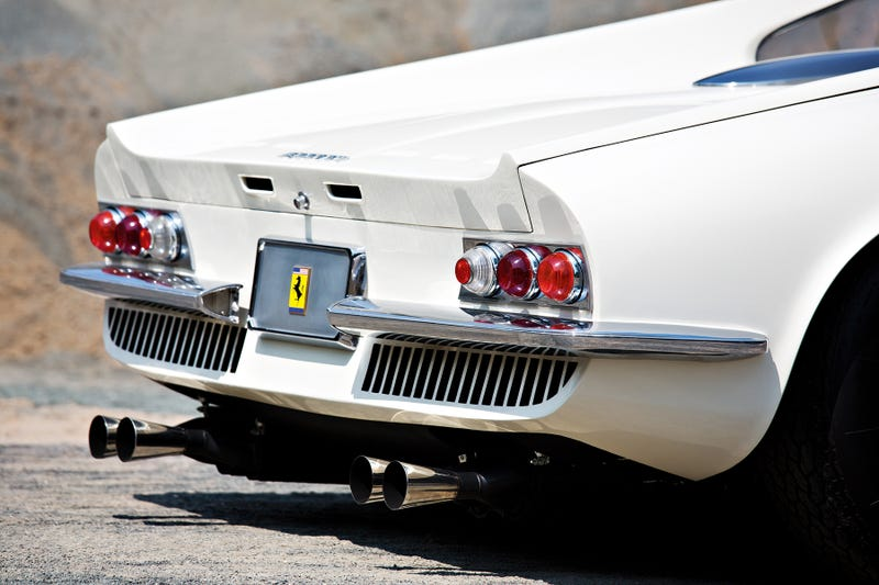 Illustration for article titled The Ferrari 365 P Berlinetta 'Tre Posti' Didn't Sell For $23.5 Million