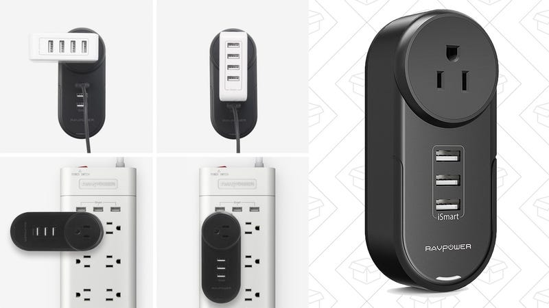 RAVPower Mini Surge Protector and USB Charging Hub | $9 | Amazon | Promo code 686KINJA