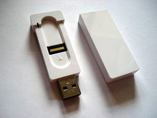 Illustration for article titled A-Data FP1 Finger Scanning USB Drive
