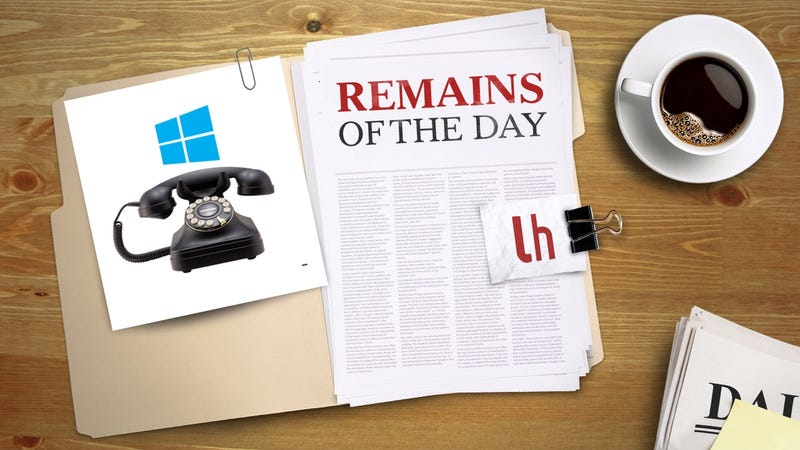 Illustration for article titled Remains of the Day: Windows 10 Mobile Launches on Compatible Phones