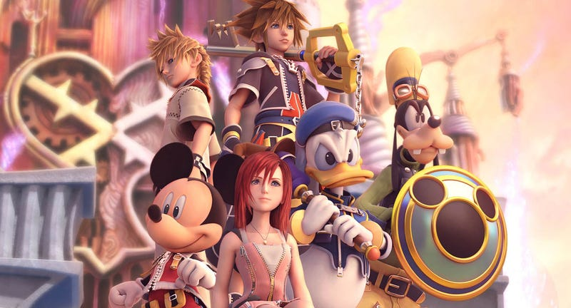 Illustration for article titled New Kingdom Hearts Game Will Be At E3