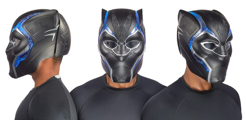 Hasbro's Fancy New Black Panther Mask Is Fit for a King