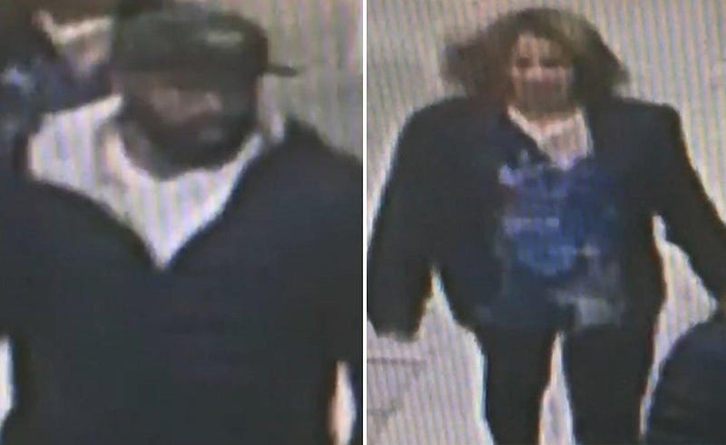 Brooklyn robbers.Police surveillance photo.