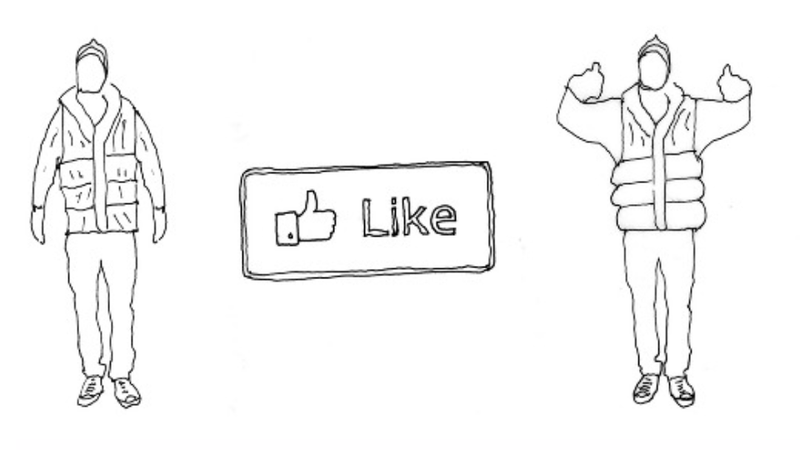 Illustration for article titled Vest That 'Hugs' You Whenever You Get a Facebook 'Like' Makes Us Very, Very Sad