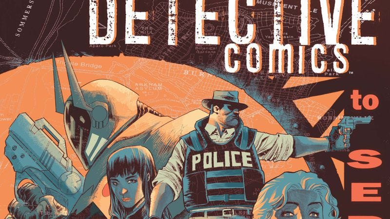 Illustration for article titled Exclusive DC preview: A new Batman patrols Gotham in Detective Comics #41