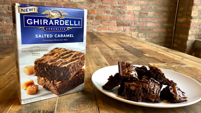 Ghirardellis Salted Caramel Brownie Mix Barely Worthy Of The Name