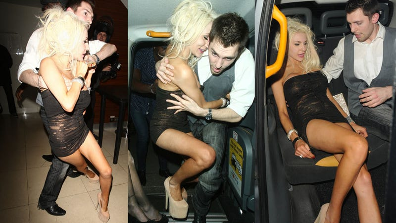 Illustration for article titled Courtney Stodden Got Totally Brainfaced Wasted in London