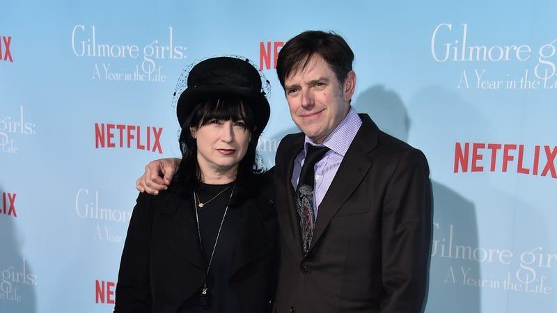 Amy Sherman-Palladino and Daniel Palladino. Photo via Getty Images.