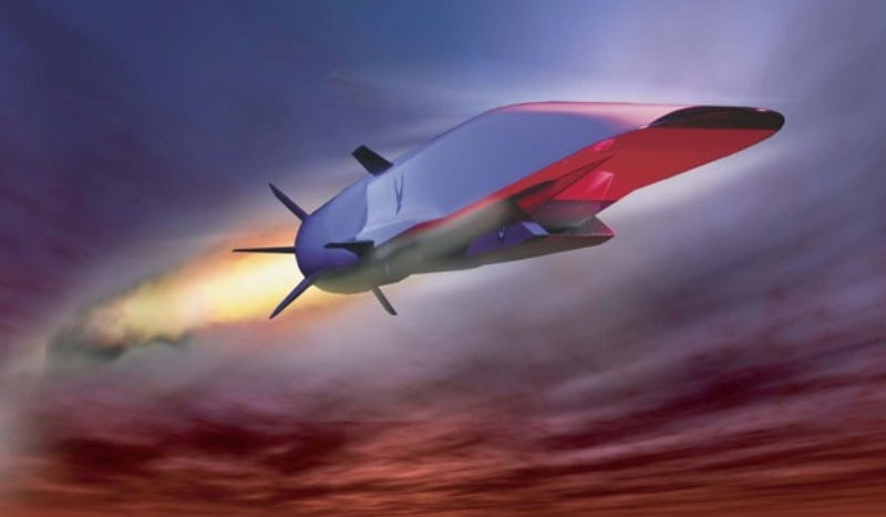 Illustration for article titled The Air Force's Hypersonic Plane Fails 16 Seconds Into Test Flight