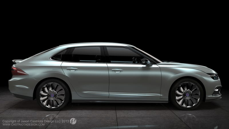 Illustration for article titled The Chinese Resurrection Of Saab May Include Hybrids And Electrics