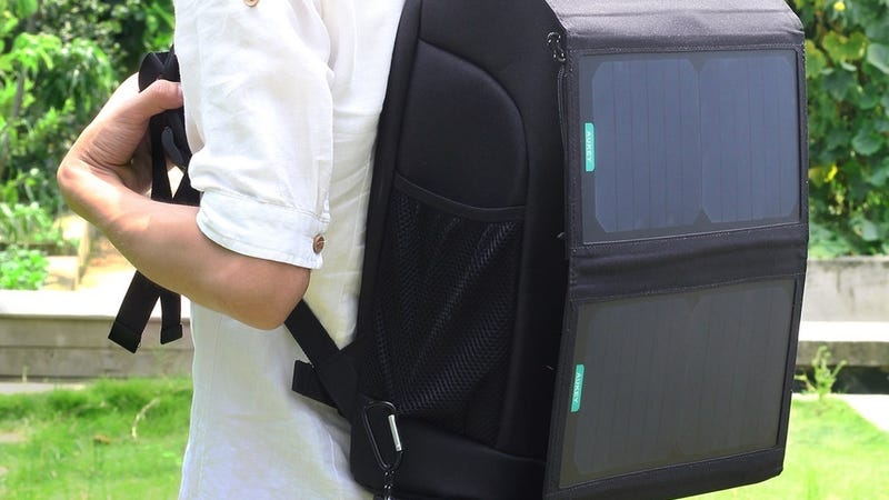 Aukey 20W Solar Charger, $40 with code AUSOLAR9