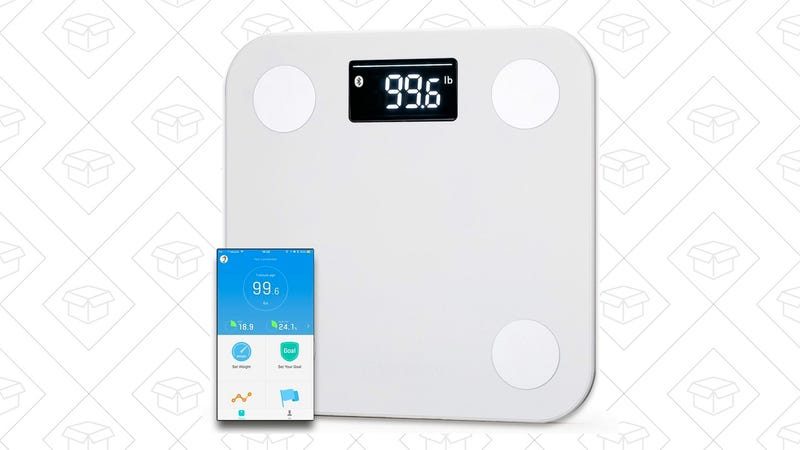 Yunmai Bluetooth 4.0 Smart Scale | $30 | Amazon | Use code dealym13