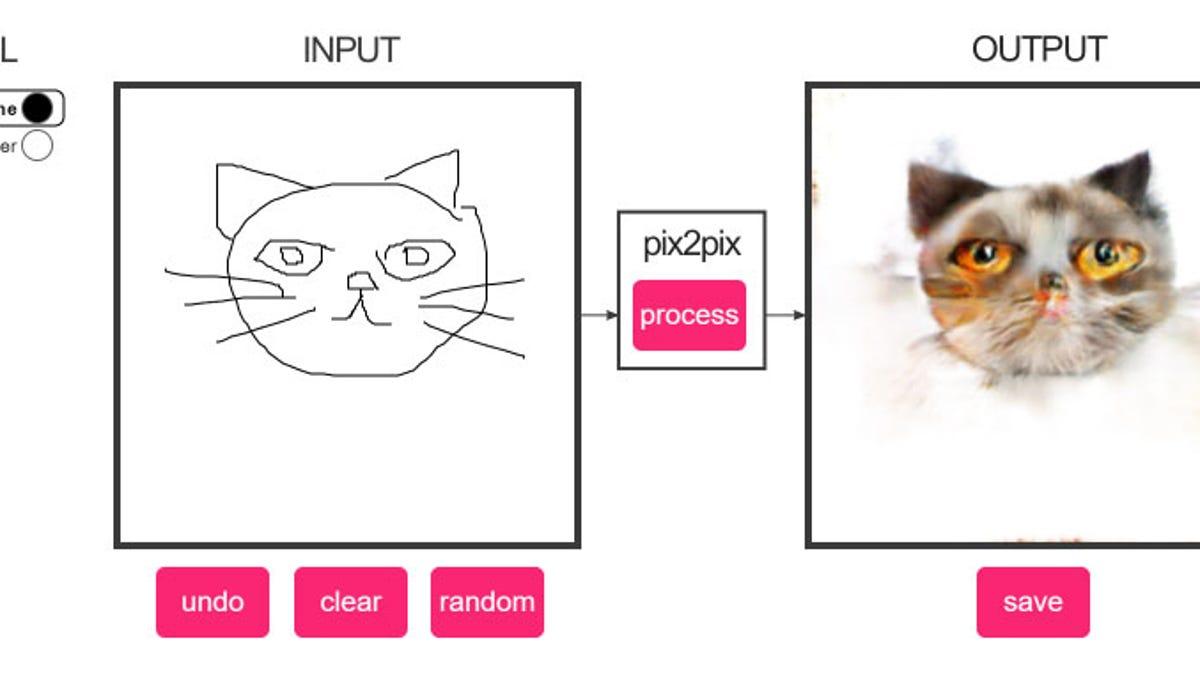 Turn Cat Doodles Into Horrific Cat Photographs