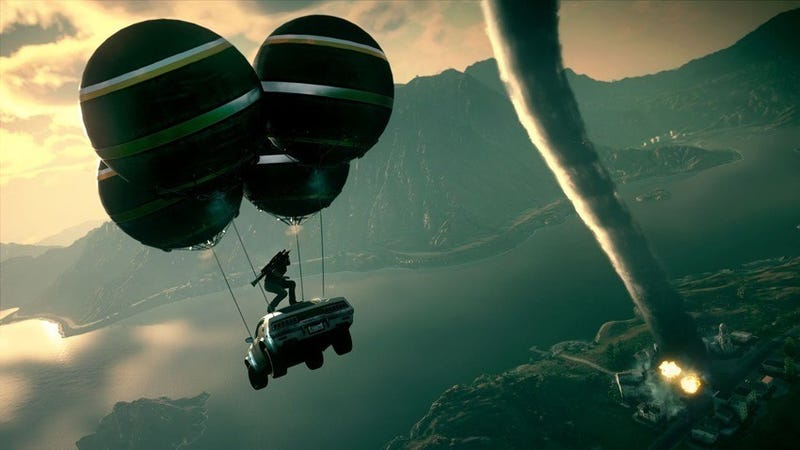 Illustration for article titled Just Cause 4 Easter Egg Turns The Game Into An Indie Hit