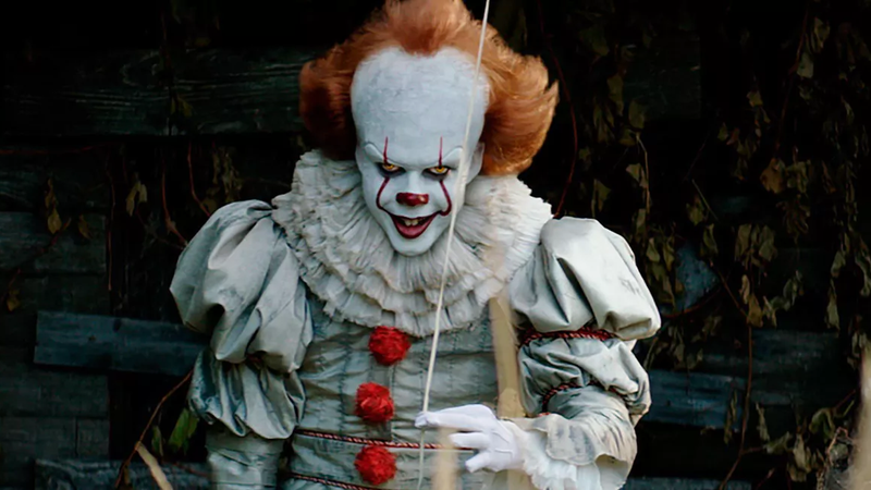 Pennywise, hanging out, you know, like you do.
