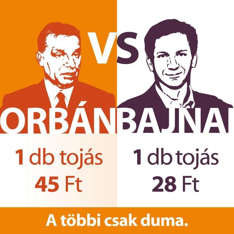Illustration for article titled Bajnai Gordon döbbenetes taktikája: orbánviktorizmusban akarja legyőzni Orbán Viktort