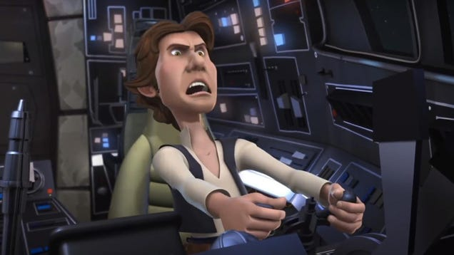 Star Wars Detours Probably Won t Ever Be Released and Here s Why