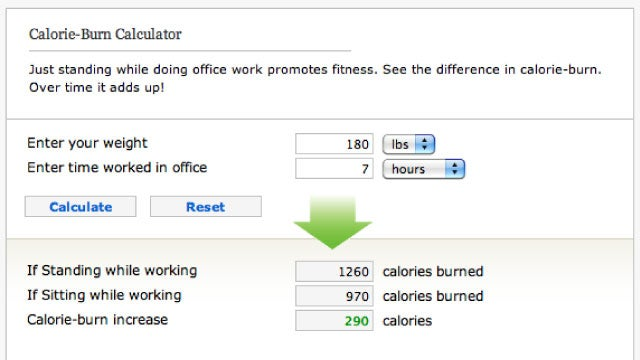 How Many Calories Would You Burn If You Switched to a Standing Desk