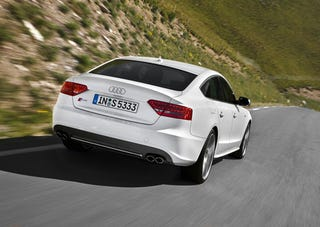 Illustration for article titled Audi S5 Sportback: Photos