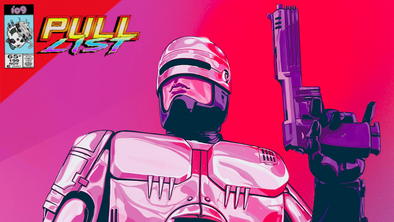 Robocop Secret Immortals And Galactus Severed Head Are The Stars