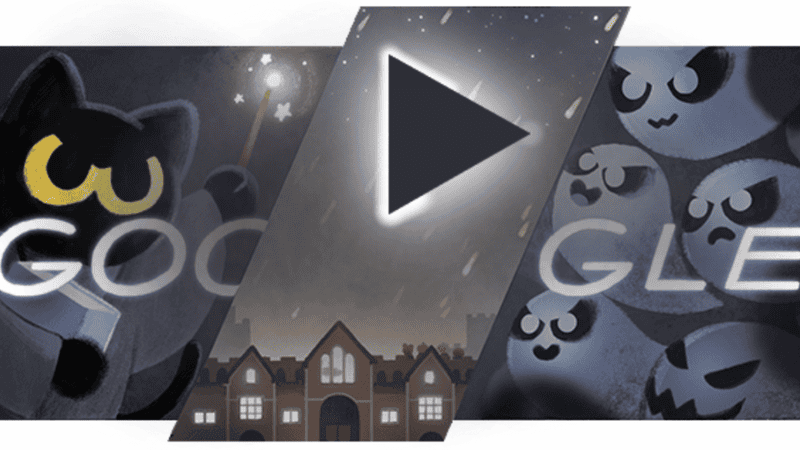 People Are Competing To Be The Fastest At Google's Halloween Doodle