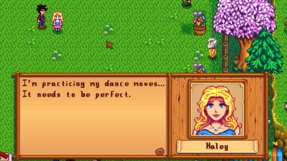 Stardew Valley Penny First Flower Dance - Flowers Healthy