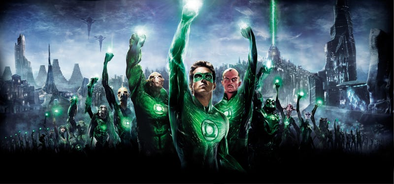 Illustration for article titled Green Lantern Banner