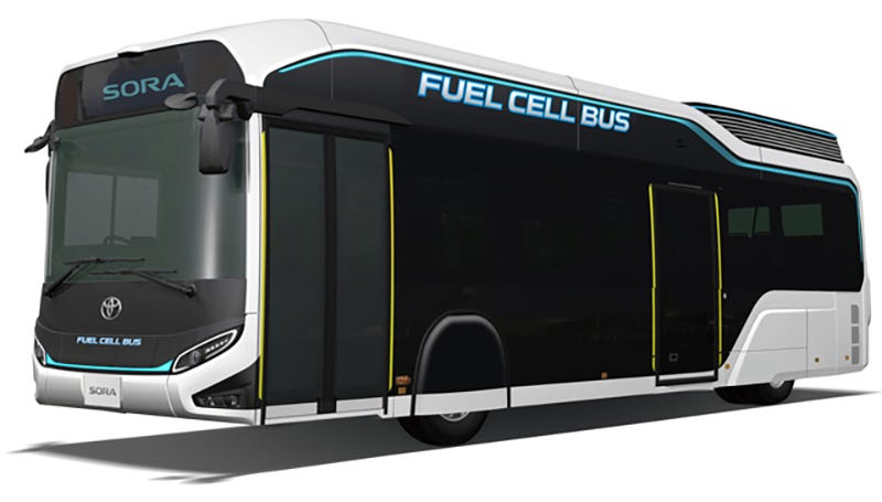 Illustration for article titled Man I Wish Toyota Would Build A Rad Fuel Cell Bus For NYC