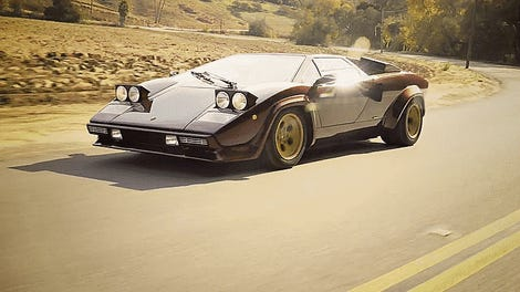 The Lamborghini Countach Is Great Because It Was Terrible