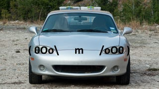 Can You Draw Your Car's Face With A Single Line Of Text?