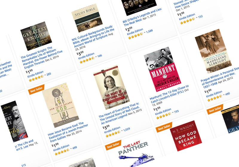 Kindle History Book Sale