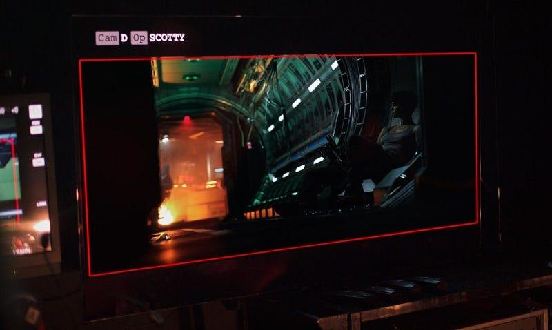 Imagen oficial de la producción de Alien: Covenant (vía 20th Century Fox).
