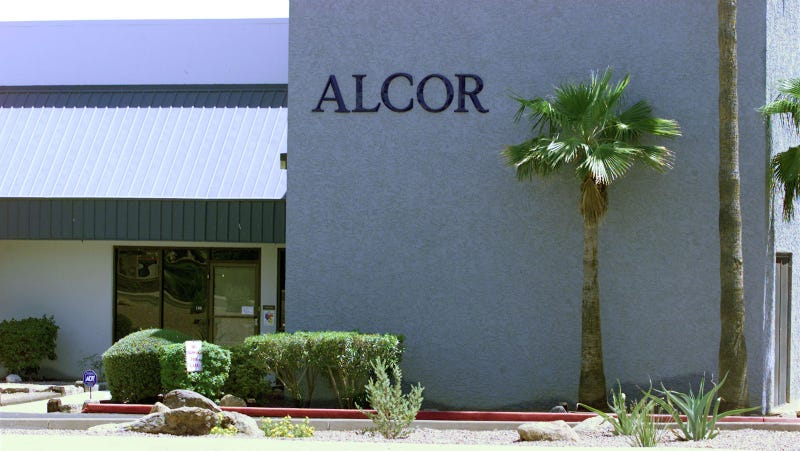 Alcor Life Extension Foundation, a cryogenics company in Arizona. Image via Getty.