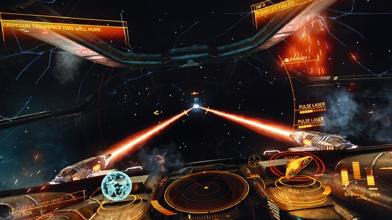 Illustration for article titled Despite Player Outcry, Elite: Dangerous Will Remain Always Online
