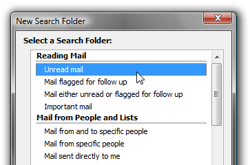 Illustration for article titled Triage Your Email Inbox with Outlook Search Folders